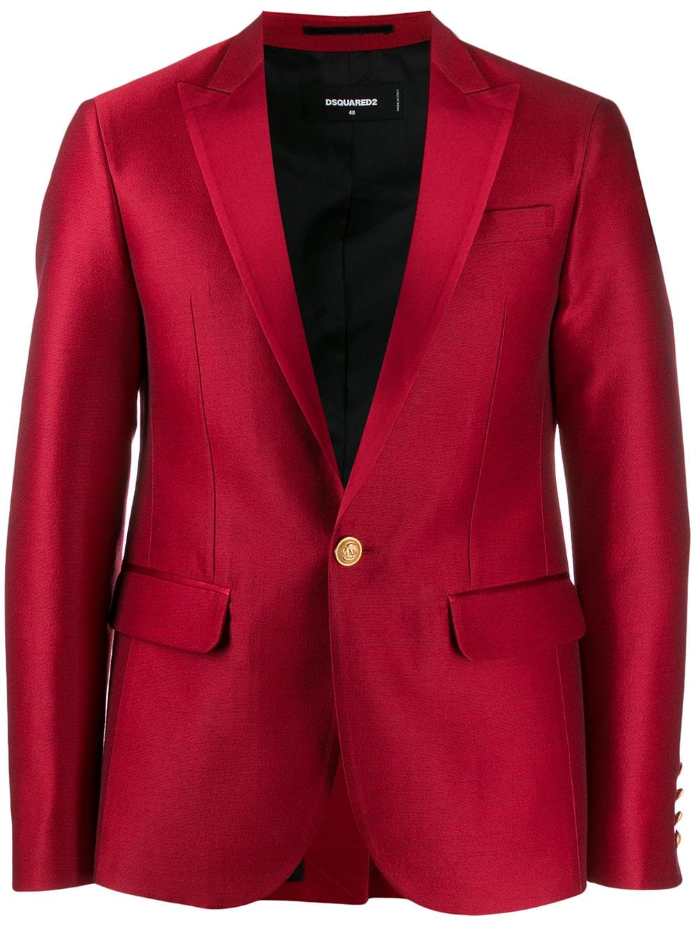 It's A Date: Flirty Looks + Gifts for Valentine's Day, men's red blazer jacket, DSquared2 tailored red blazer jacket