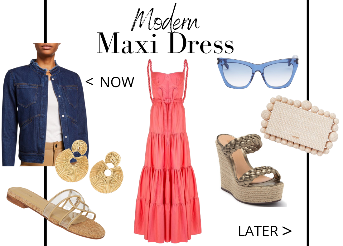 Key Closet Essentials to Wear Now Then Later Modern Maxi Dresses