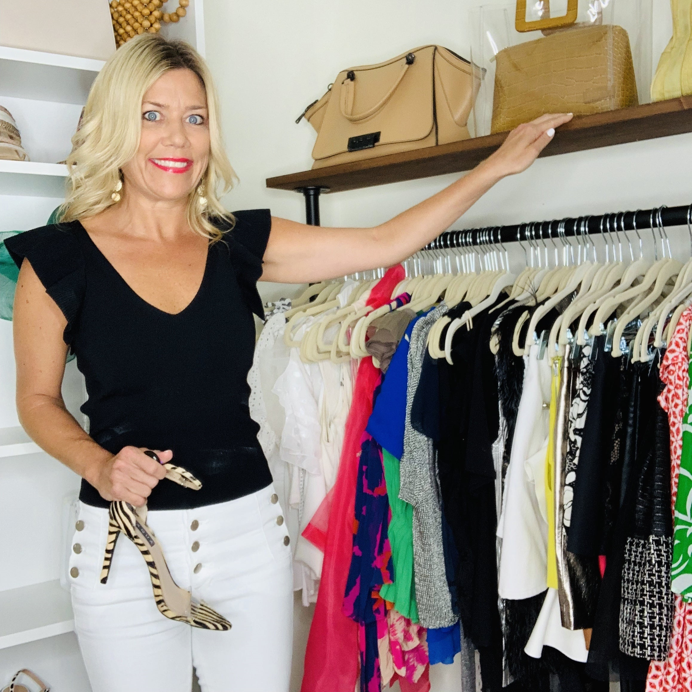 Summer Closet Clean Out +  Wardrobe Essentials, Divine Style