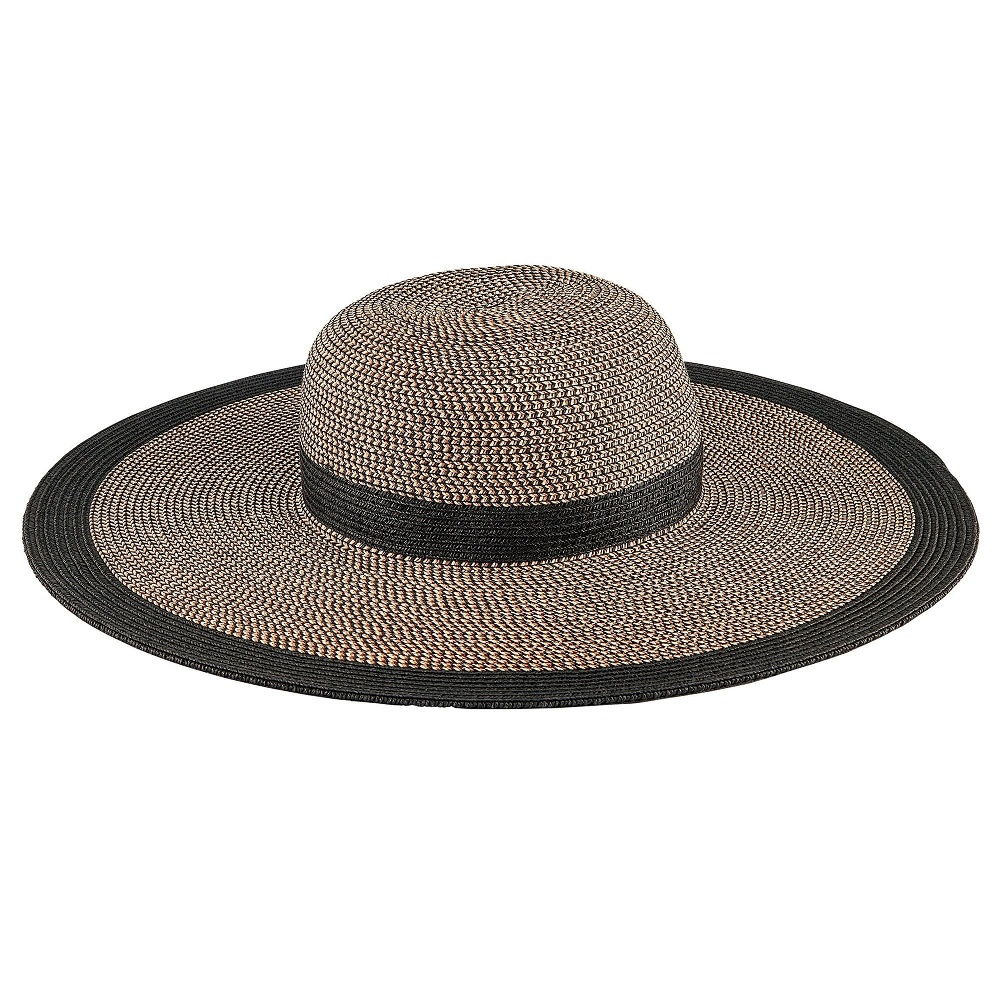 Summer Must-Have Accessories, straw hats, San Diego Hat Company, Women's Water Repellent Striped Floppy