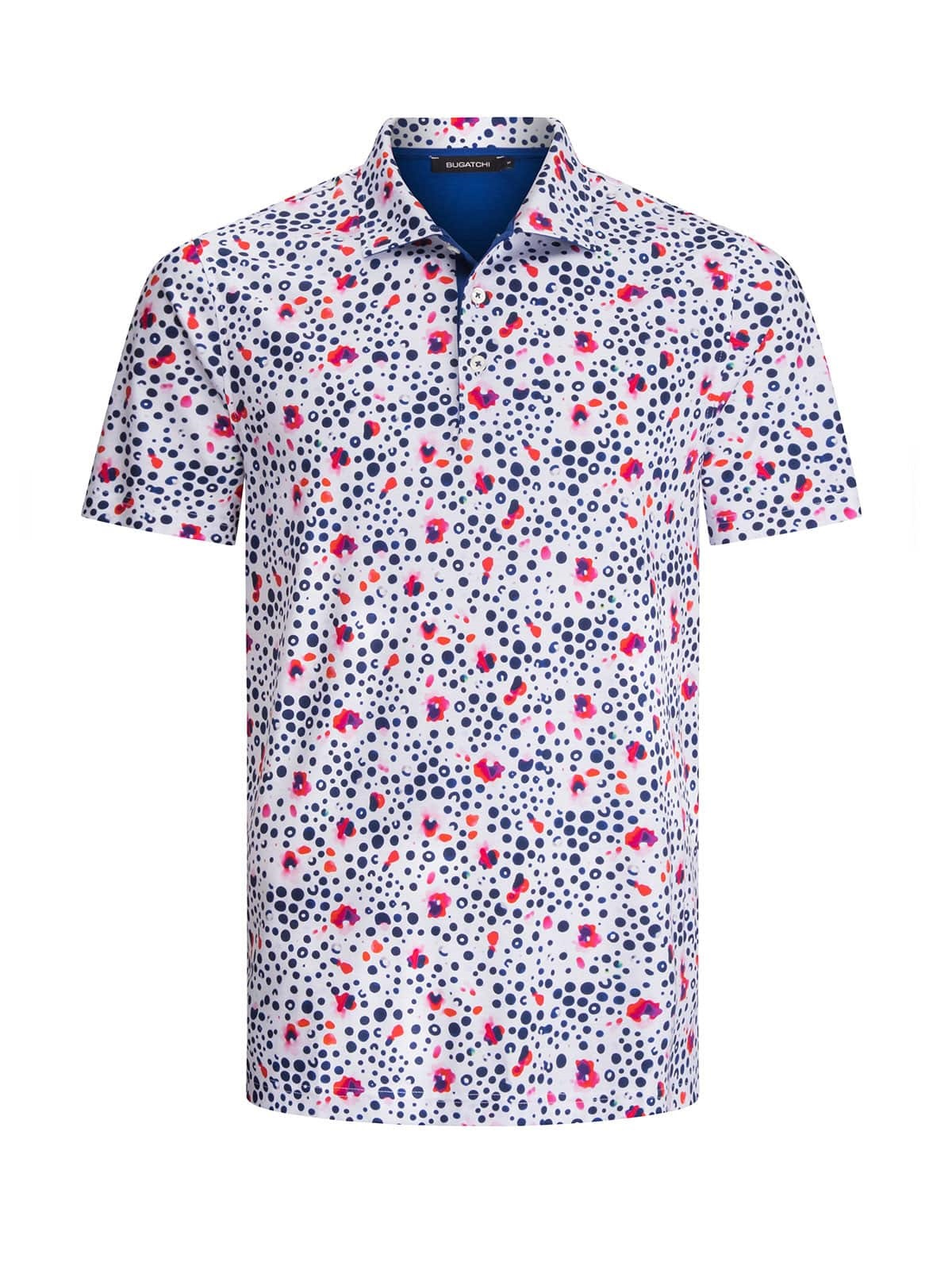 Sunny and Stylish Labor Day Weekend Outfits, Al Fresco Dining BBQ style, Bugatchi short sleeve men's print polo