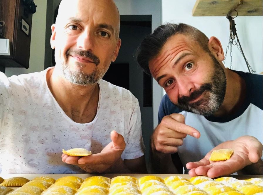 Make the Holidays Festive at Home with these Ideas, at home cooking classees, pasta with Luca and Lorenzo
