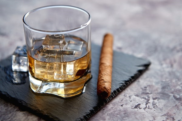 Make the Holidays Festive at Home with these Ideas, virtual whisky and cigar pairing